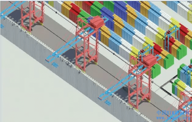 BIM应用,BIM,尼日利亚莱基深水港,中国BIM培训网