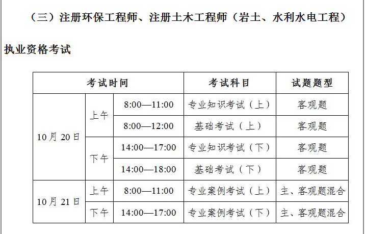 广东人事网 2018注册环保工程师考试报名通知