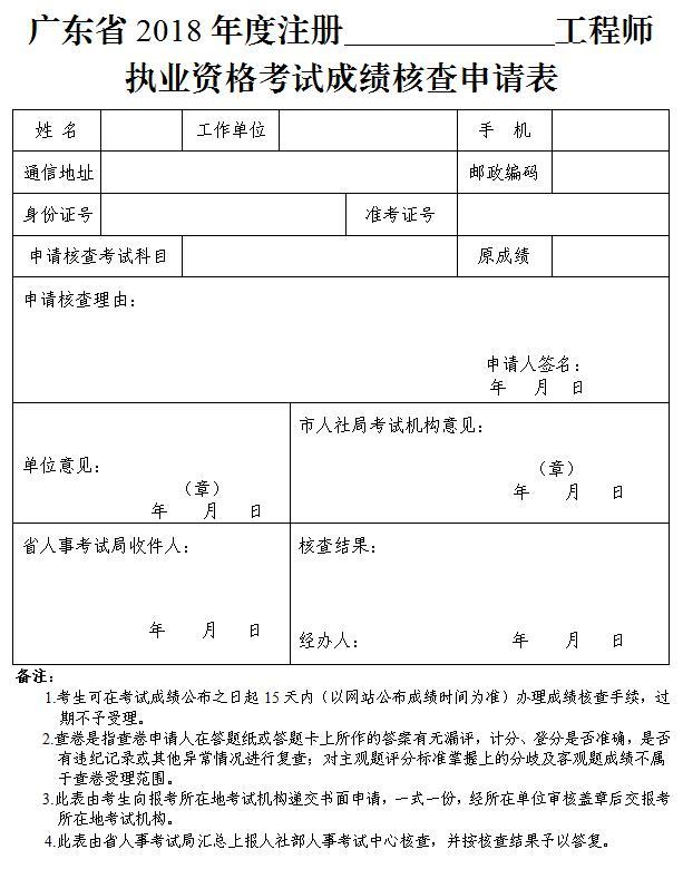 广州人事中心 2018年环保工程师报考公告
