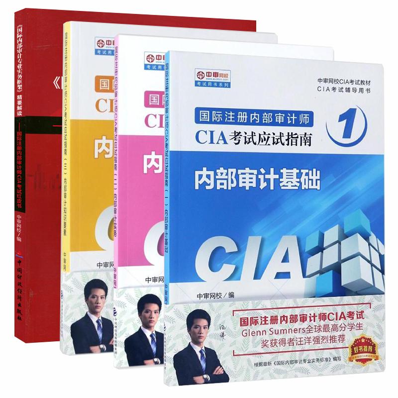 2018年国际注册内部审计师CIA考试应试指南 内部审计基础+内部审计实务+内部审计知识要素+专业实务框架-精要解读全套共4本