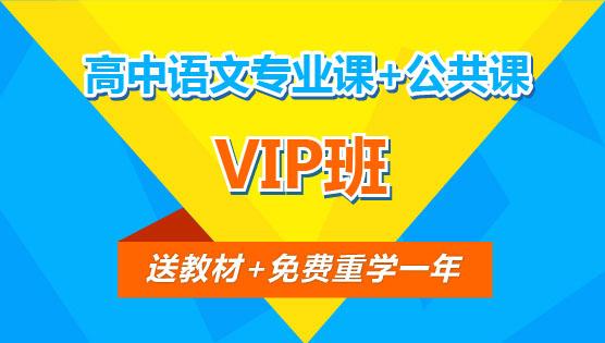 【VIP班】高中语文专业课+公共课(全科)