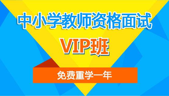 【VIP班】中小学教师资格面试