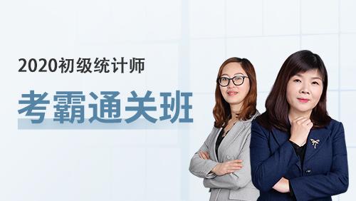 2020初级统计师-[考霸通关班](全科)