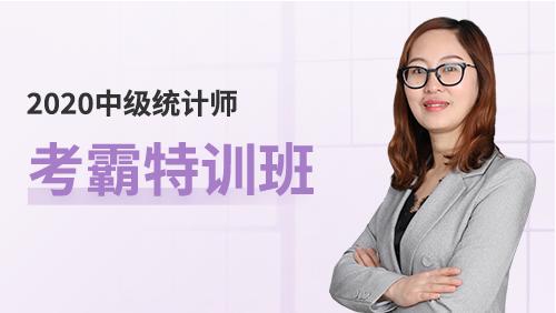 2020中级统计师-[考霸特训班](全科)