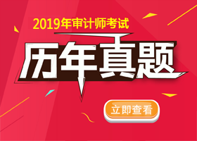 2019年审计师新宝5登录地址历年真题