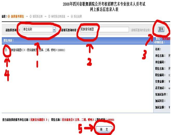 四川2012年经济师考试报名流程图解