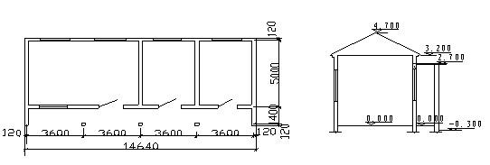 半地下室)的建筑体积,按地下室上口外围水平面积(不包括地下室采光井