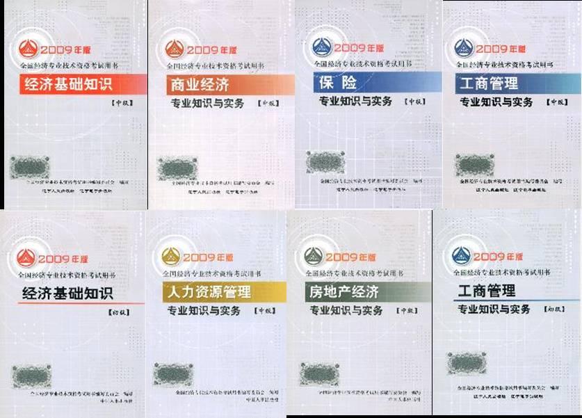 经济师考试用书_中级经济师_经济师