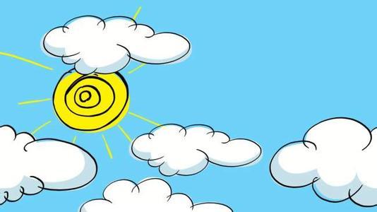 各种云的卡通图片