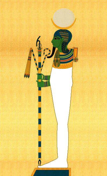 幼儿教育:埃及神话中的月神孔斯-中大网校儿童教育网