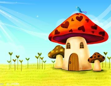 大蘑菇房子