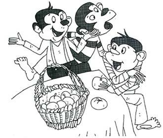 动漫 简笔画 卡通 漫画 手绘 头像 线稿 330_280