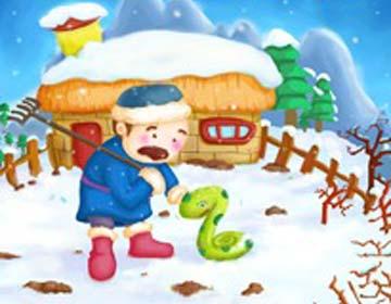 幼儿教育:农夫和蛇的故事-中大网校儿童教育网