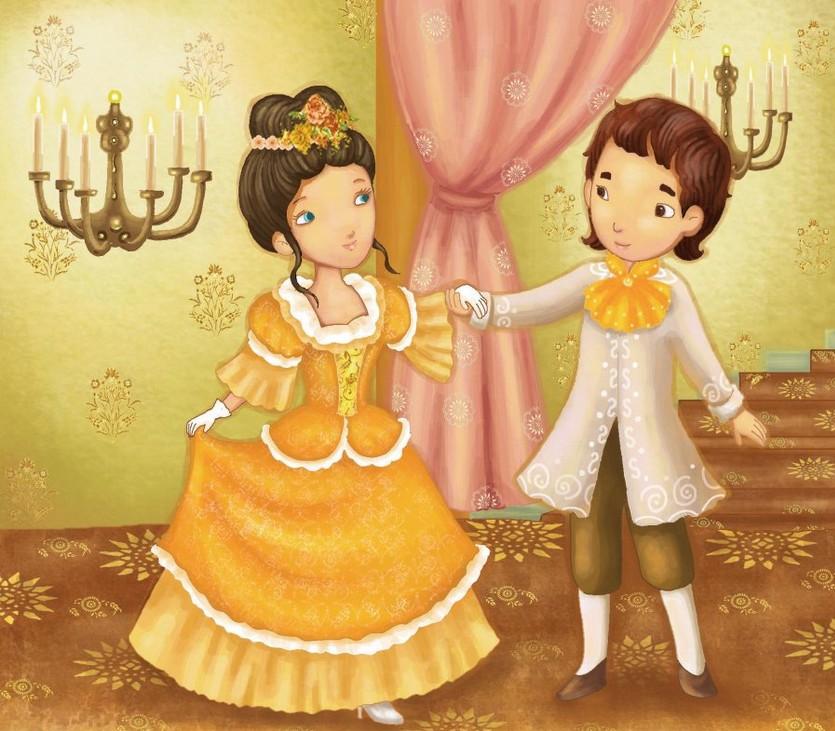 幼儿教育:漫画《王子和公主》-中大网校儿童教育网