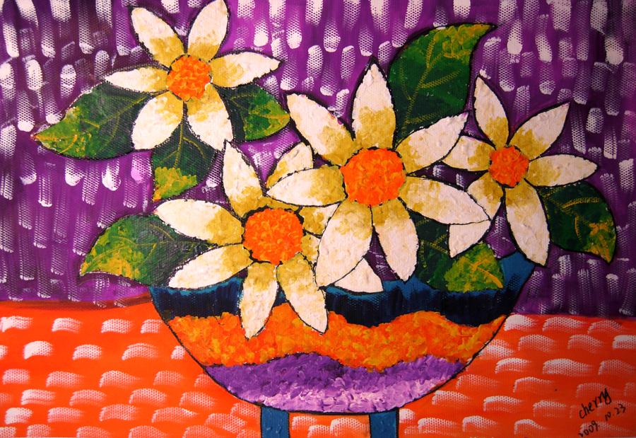 種花和花卉知識黑板報