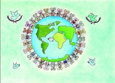 关于和平的素材