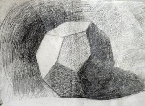 幼儿教育 素描 石膏十二面体 中大网校儿童图片