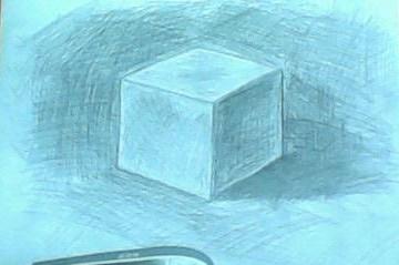 素描《正方形》