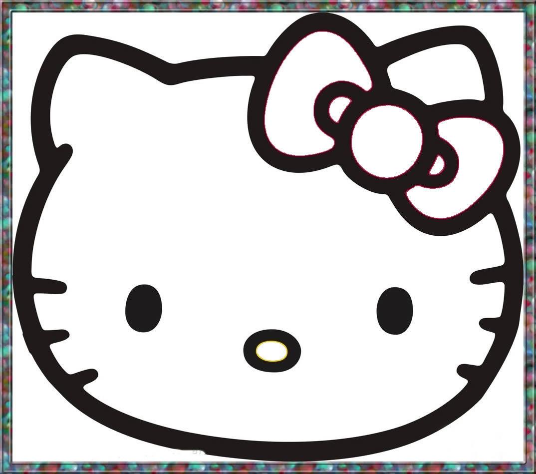 幼儿教育:速写《kitty猫》-中大网校儿童教育网