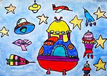 幼儿教育:儿童水彩画《美丽的银河系》-中大网校儿童