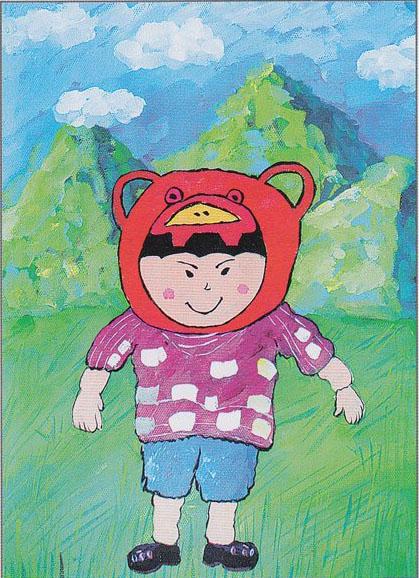 儿童画的熊步骤