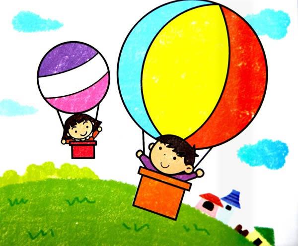 动漫 卡通 漫画 热气球 头像 600_496