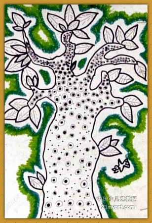 线描《《智慧树》》